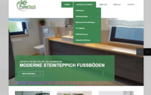 Fubotech Webseite
