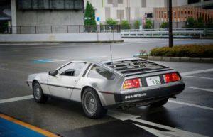 Bild von einem DeLorean