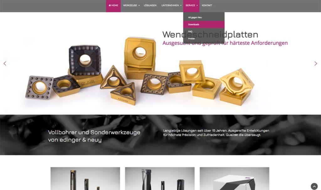 E&N Webseite