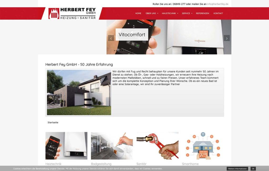 Herbert Fey Webseite