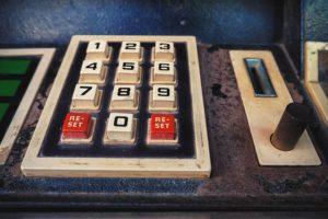 Bild von einem alten Automaten