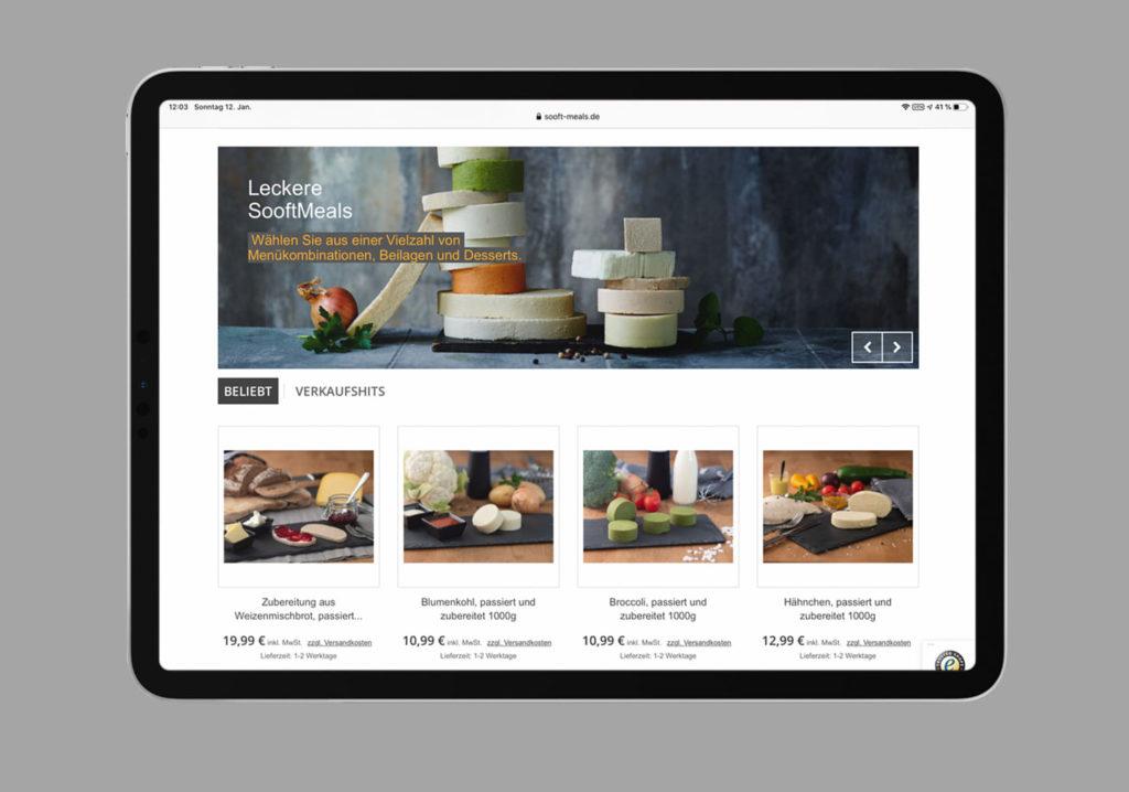 Ipad Sooft-Meals Shop