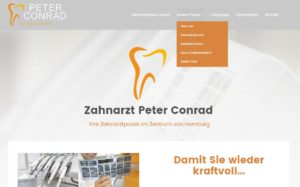 Zahnarzt_Peter_Conrad Webseite