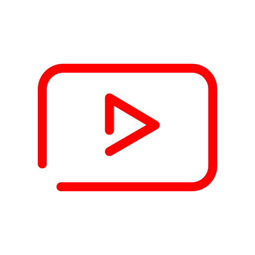 youtube icon modern