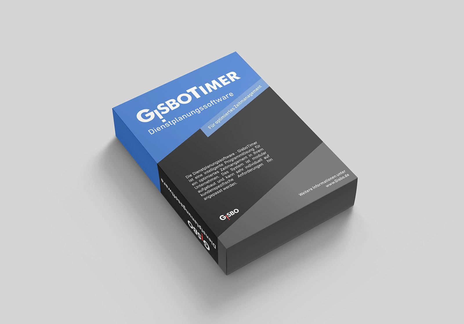 Bild von der Verpackung der Software GisboTimer