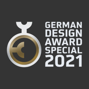 Logo German Design Award Special Mention 2021