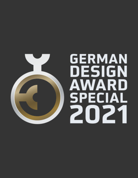Logo German Design Award Special Mention 2021
