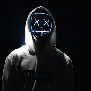 Bild von einem Hacker