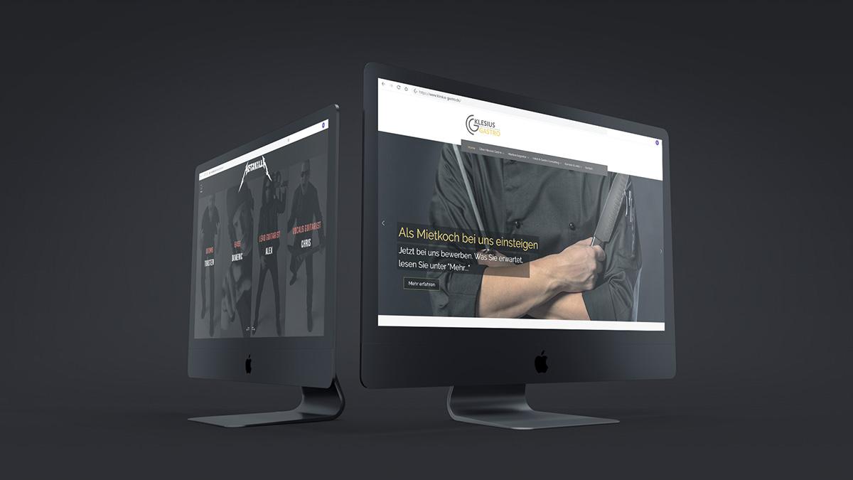 Bild von zwei Imacs Webdesign